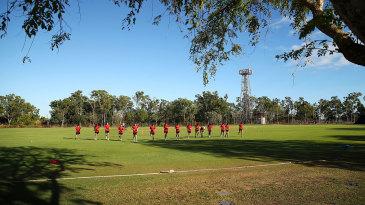 A view across Marrara Cricket Ground in Darwin