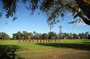 A view across Marrara Cricket Ground in Darwin, July 1, 2018