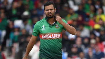 Mashrafe Mortaza took just one wicket from eight games in the 2019 World Cup