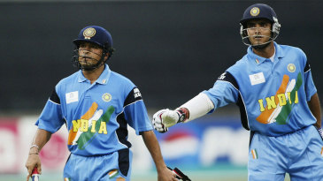 Has there been a more formidable ODI opening pair than Sachin Tendulkar and Sourav Ganguly?