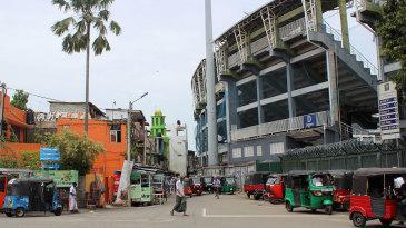 The Premadasa Stadium in Khettarama has a capacity of around 25,000