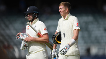 England openers Zak Crawley and Dom Sibley have both been furloughed