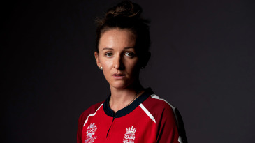 Kate Cross at the ICC Women's T20 World Cup