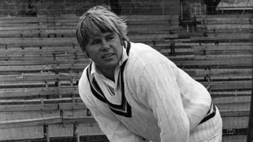 Mike Procter was with Gloucestershire for 13 years, and captained the team for four, from 1977 to 1981