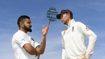 The average gap between scores of 50 and above for Virat Kohli is 2.86 innings, while for Joe Root it is 2.63