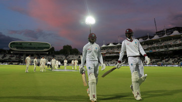 West Indies last toured England in 2017