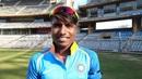 Bharti Fulmali at the Wankhede Stadium, Mumbai, February 18, 2019