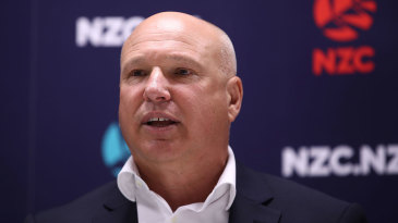 David White, the NZC chief executive, is planning for a tough year