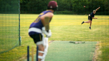Recreational cricketers in England are back in the nets, but furloughed county players have been advised to stay away