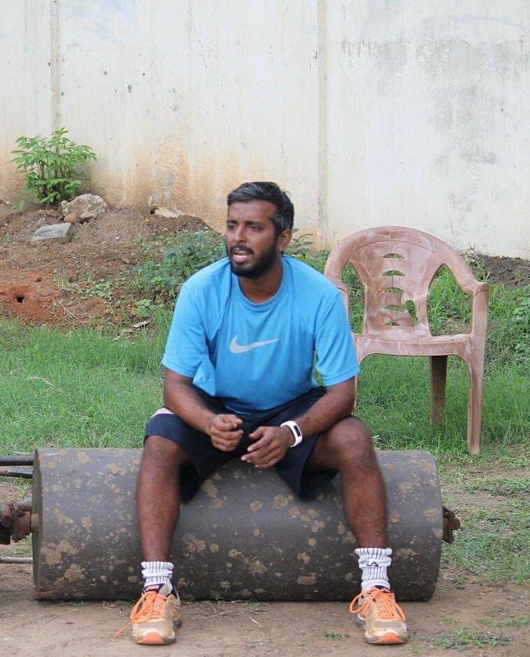 V Narasimhan stays busy 10-11 months a year on the Tamil Nadu cricket circuit and the IPL, but not this year