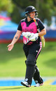 Rachel Priest walks off after being dismissed, New Zealand women vs Thailand women, T20 World Cup warm-up, Adelaide, February 19, 2020
