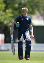 Sam Billings during a net session at Bert Sutcliffe Oval, Lincoln, New Zealand, October 26, 2019