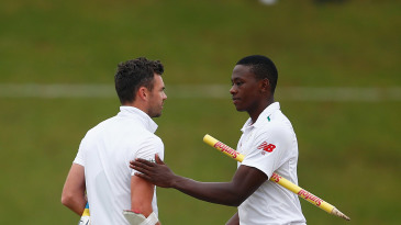 James Anderson and Kagiso Rabada both average 23 and a bit in the last 100 Tests
