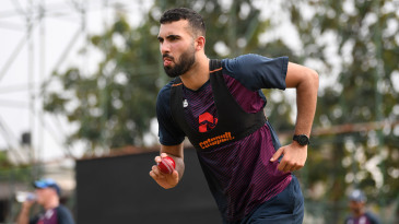 Saqib Mahmood is in contention for a Test cap this summer