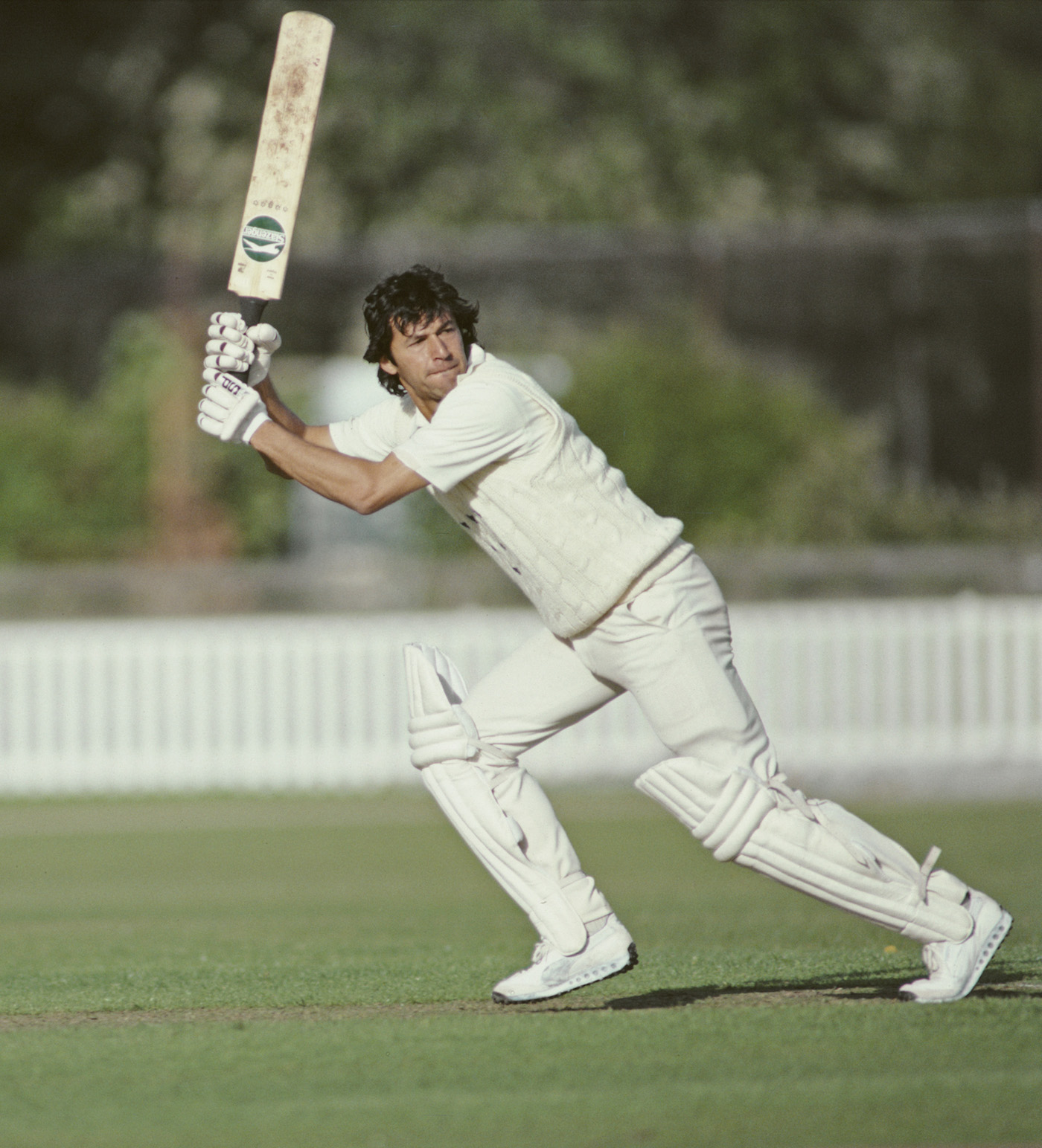 Flay as it lays: in action for Sussex in 1981