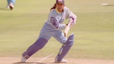 Anju Jain played eight Tests and 65 ODIs for India