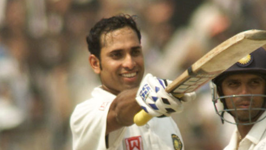 VVS Laxman and Rahul Dravid put on 376 for the fifth wicket, one of Test cricket's most famous partnerships