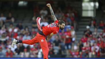 Kane Richardson in action for the Melbourne Renegades
