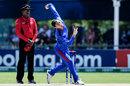 Noor Ahmad bowls, South Africa v Afghanistan, U-19 World Cup, Kimberley, January 17, 2020