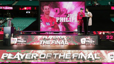 Josh Philippe was the Player of the Final