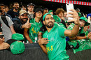 Haris Rauf takes a photo with fans, Melbourne Stars v Sydney Sixers, Big Bash League, Melbourne, January 12, 2020