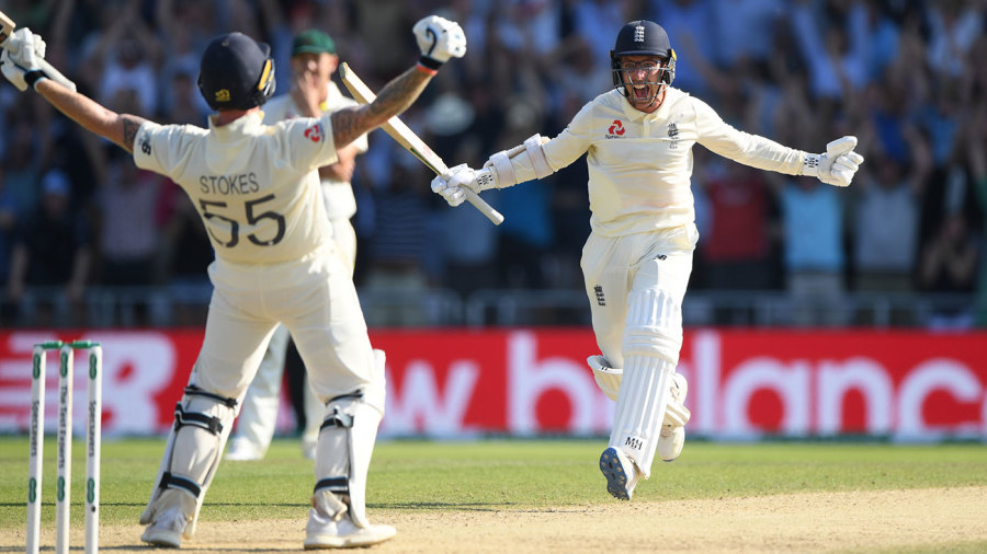 Jack Leach survived 17 balls during the Headingley 2019 miracle