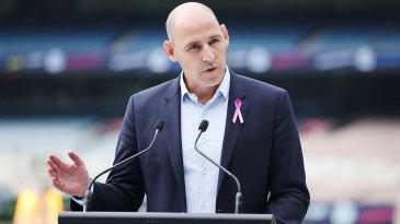 Nick Hockley will step into Cricket Australia