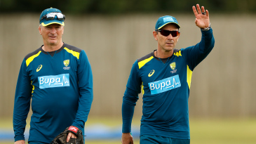 Justin Langer will have fewer support staff with him from now on