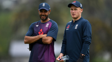 Matt Parkinson worked closely with Jeetan Patel on tour with England last winter