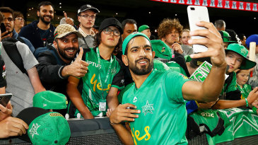 Having played grade cricket in Australia before making a splash in the Big Bash, Haris Rauf says he knows how to bowl spells longer than four overs