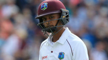 Dowrich averaged just 4.80 in West Indies' 2017 tour of England