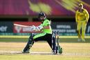 Eimear Richardson of Ireland is bowled, Ireland v Australia, ICC Women's World T20 2018, Providence, Guyana, November 11, 2018