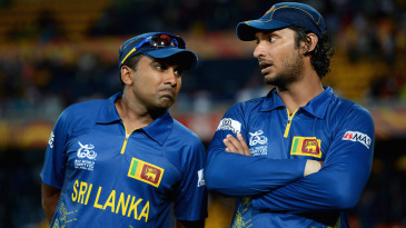 Kumar Sangakkara was Sri Lanka's captain and Mahela Jayawardene was his vice-captain during the 2011 World Cup