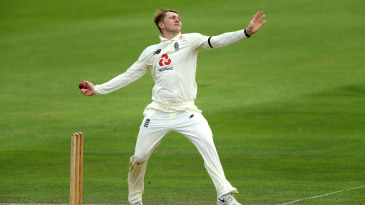 Dom Bess bowled tightly