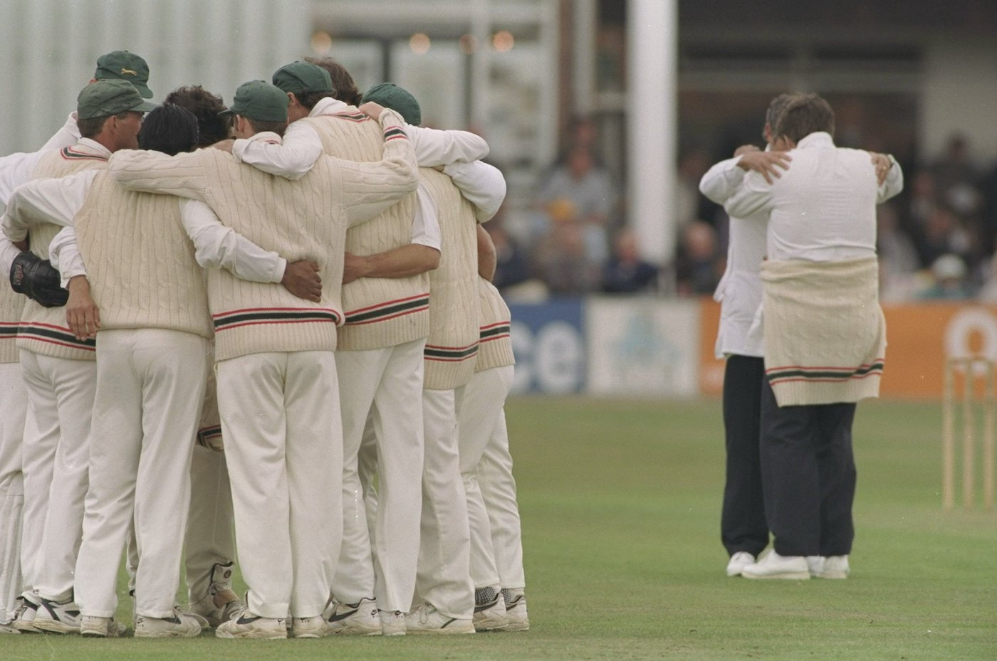 You can forget about this altogether. And whatever the umpires are doing too