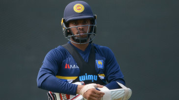 Mendis had been part of Sri Lanka's residential training camp at Pallekele, which ended on Wednesday