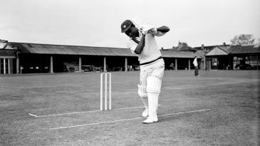 Journalist Pat Landsberg notes that Everton Weekes hit two sixes, not one as is commonly thought, both in the same Test against Australia