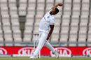 Shannon Gabriel bowls, England v West Indies, 1st Test, day 1, Southampton, July 08, 2020