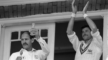 Clive Rice and Richard Hadlee were instrumental to Nottinghamshire's revival in the 1980s