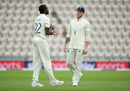 Ben Stokes speaks with Jofra Archer, England v West Indies, 1st Test, day 2, Southampton, July 09, 2020