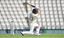 Mark Wood bats, England v West Indies, 1st Test, 5th day, Southampton, July 12, 2020