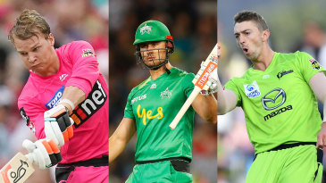 Josh Philippe, Marcus Stoinis and Daniel Sams were part of Australia's large training squad