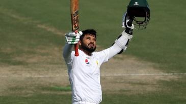 Azhar Ali made a fourth-innings hundred