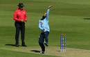 Moeen Ali bowls in the intra-squad warm-up after being named ODI vice-captain, Team Morgan v Team Moeen, Ageas Bowl, July 21, 2020