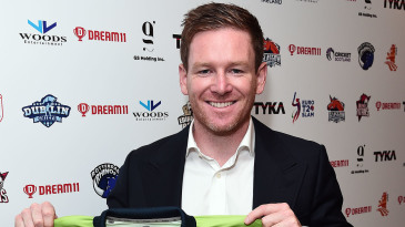 Eoin Morgan was among the marquee names originally due to play in the Euro T20 Slam