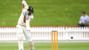 Rachin Ravindra finished last season with his maiden first-class hundred