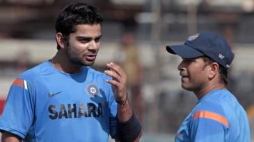 Tendulkar's suggestion helped Kohli rectify a technical flaw in his batting