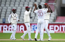 Shannon Gabriel bowled a fiery spell on the second morning, England v West Indies, 3rd Test, Emirates Old Trafford, 2nd day, July 25, 2020