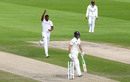 Shannon Gabriel claimed the wicket of Jos Buttler, England v West Indies, 3rd Test, Emirates Old Trafford, 2nd day, July 25, 2020