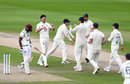 James Anderson claimed the wicket of Shamarh Brooks, England v West Indies, 3rd Test, Emirates Old Trafford, 2nd day, July 25, 2020